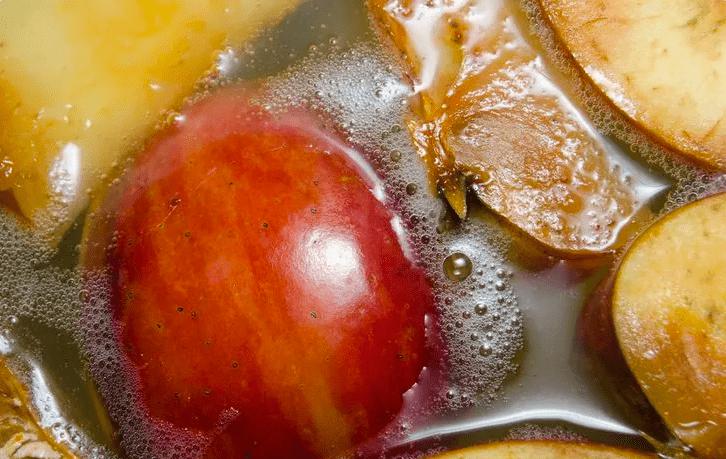 fermented apples