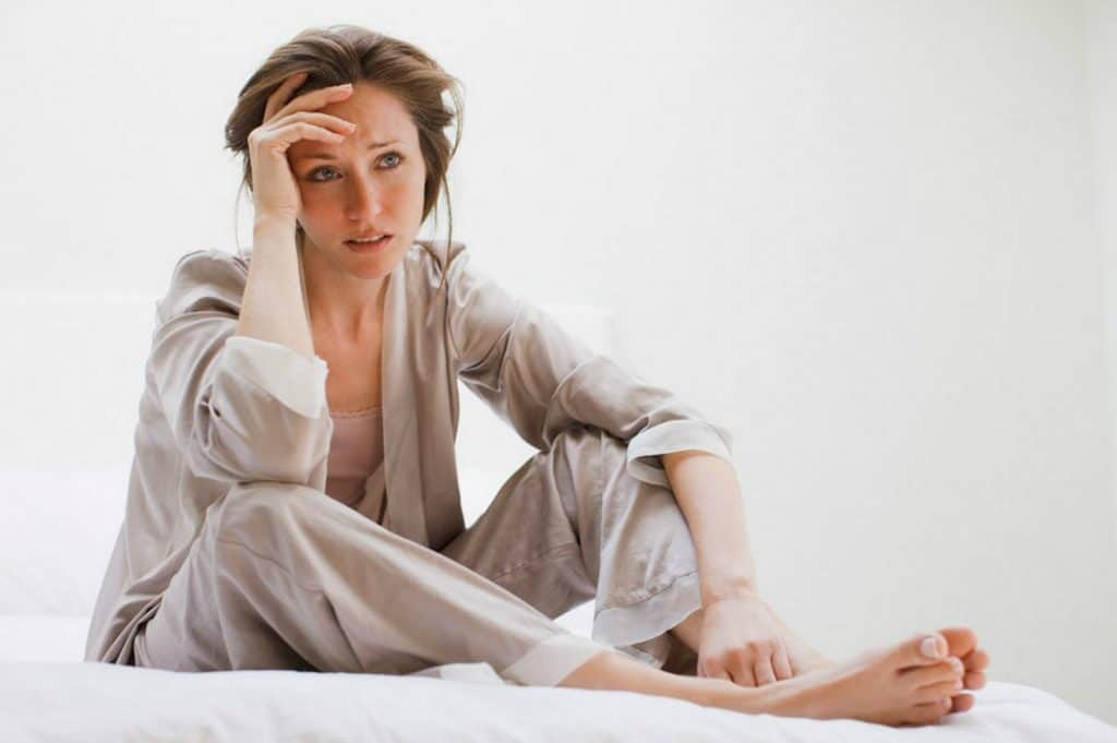 woman with magnesium deficiency