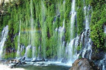 flowing water of asik-asik falls