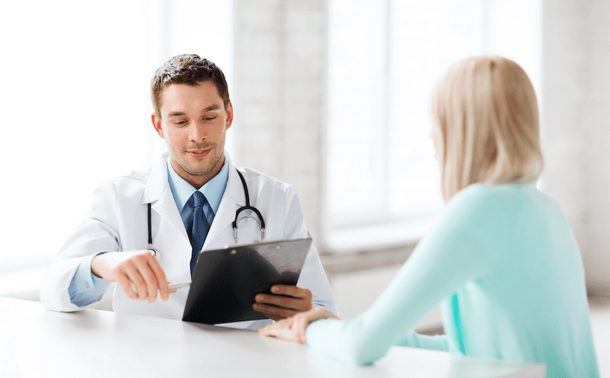 doctor and patient appointment