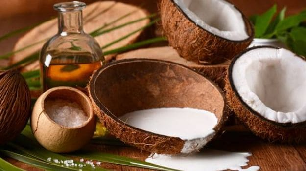 coconut and coconut oil extract