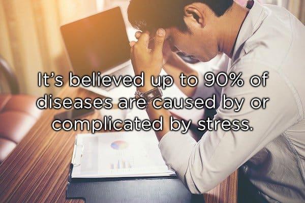 a stress person