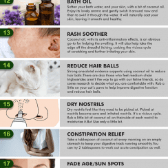 30 everyday uses for coconut oil