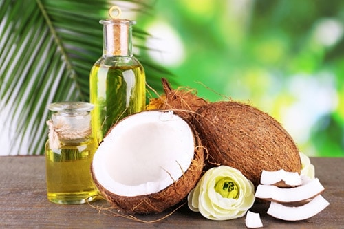 coconut and coconut oils