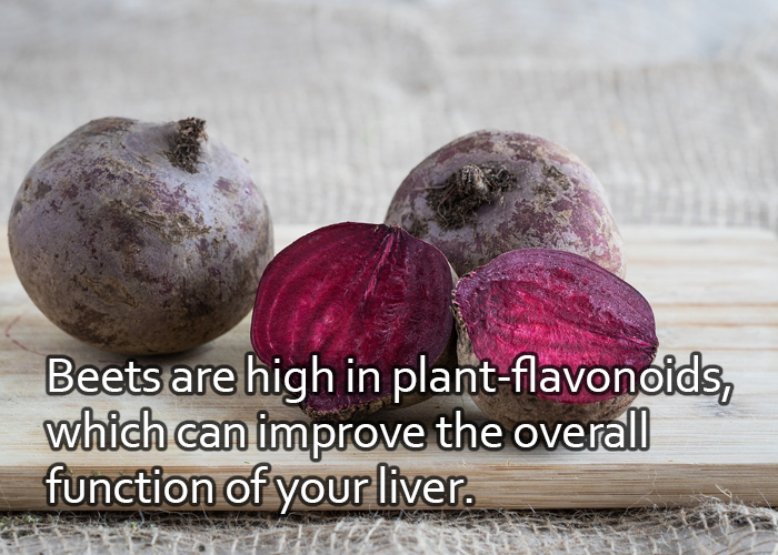 Beets for Healthy Liver